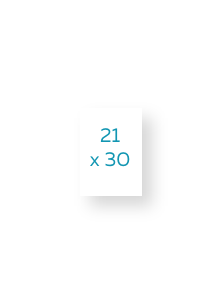 21 x 30  cm